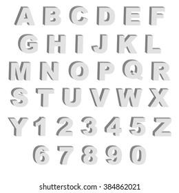Imágenes, fotos de stock y vectores sobre 3d Block Letters