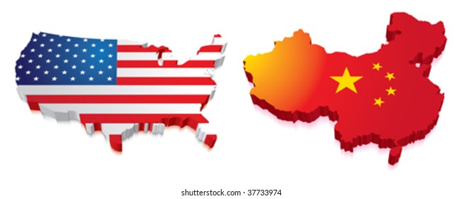 map of us and china By4tletrxwsy M map of us and china