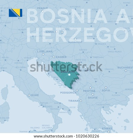 3 D Map Cities Roads Europe Countries Stock Vector (Royalty ...