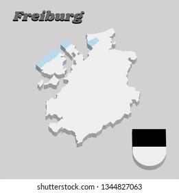 Freiburg Switzerland Stock Vectors, Images & Vector Art ...