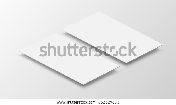 3d Mockup Mobile App Interface Blank Stock Vector (Royalty Free