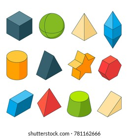 3d Shapes Drawing Images, Stock Photos & Vectors   Shutterstock