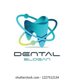 3d Modern 'Dental' Logo