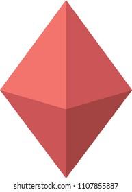 3D octahedron shape