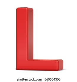 3d letter l images stock photos vectors shutterstock https www shutterstock com image vector 3d plastic red letter l isolated 360584306