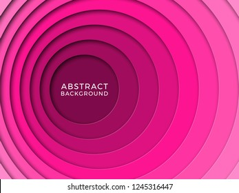 3D realistic background with paper cut round holes. vector design layout for presentation, flyer, poster, banner, business card. geometric illustration easy to edit and customize
