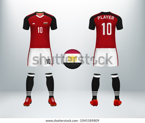 the latest c2dad c3d12 3d Realistic Font Back Egypt Soccer Stock Vector (Royalty ...