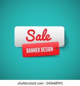 3D Sale banner tag. Sale Labels. Sale concept.