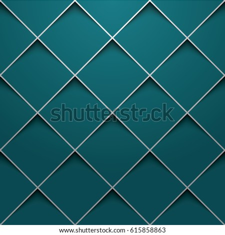 3 d square design template stock vector royalty free 615858863