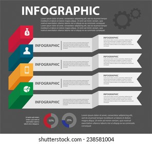 3d template for infographics