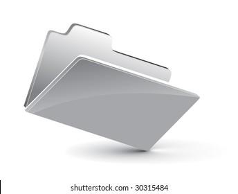 3d vector folder icon