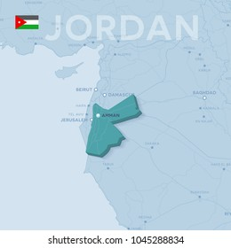 Map Of Asia Jordan.Jordan Map Images Stock Photos Vectors Shutterstock