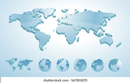 Map Of The World 3d.3d World Map Images Stock Photos Vectors Shutterstock