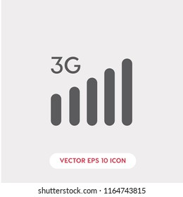 3g internet vector icon, network symbol