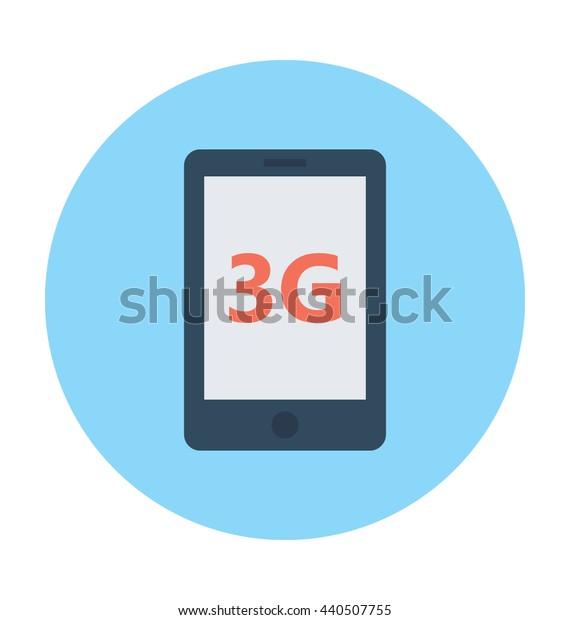 3G Network Vector Icon