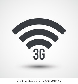 3G signal symbol