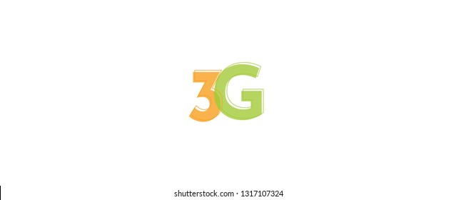 "3G word concept. ""3G"" . Use for cover, banner, blog."