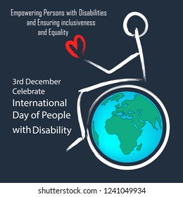 3rd December International day of person with disability