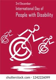 3rd December world handicapped day