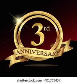 3rd Wedding Anniversary Images Stock Photos Vectors Shutterstock