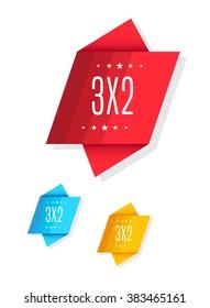 3X2 Tags