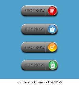4 Button shop now and buy now