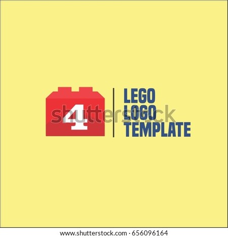 4 letter block game logo brand stock vector royalty free 656096164 4 letter block game logo brand identity design maxwellsz