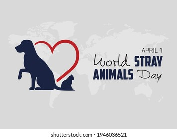 4 Nisan dünya sokak hayvanları günü  April 4, world street stray animals day.