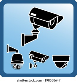 4 type CCTV icon