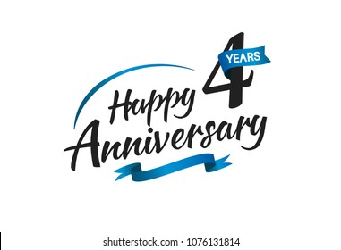 4th Anniversary Images Stock Photos Vectors Shutterstock