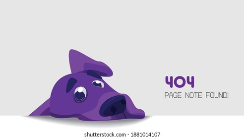 404 page not found idea vector