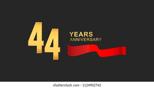 44th Anniversary Images, Stock Photos & Vectors | Shutterstock