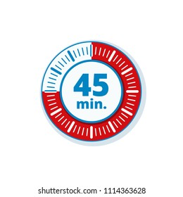 45 Minutes Time illustration