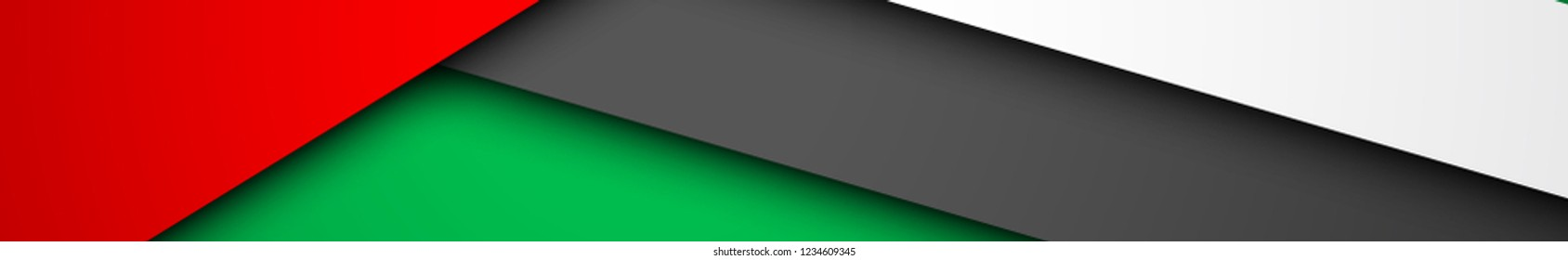47 UAE National day illustration banner with UAE flag. Spirit of the union United Arab Emirates , Flat design Logo 47 Anniversary Celebration Abu Dhabi Card