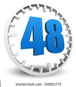 48-hour turn around time. editable vector.