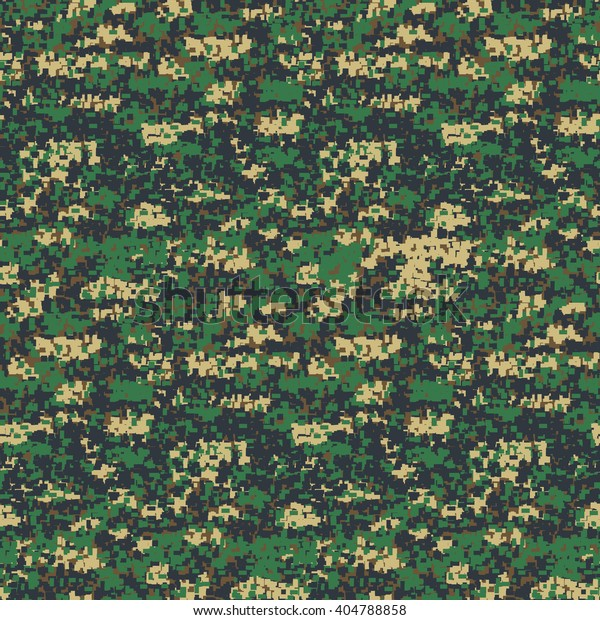 utterly stylish top fashion discount 4color Digital Woodland Camouflage Seamless Pattern Stock ...