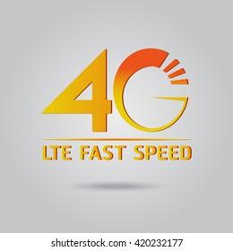 4G symbol LTE fast speed