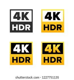 4K Ultra HD sign