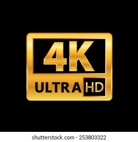 4K ultra HD sign
