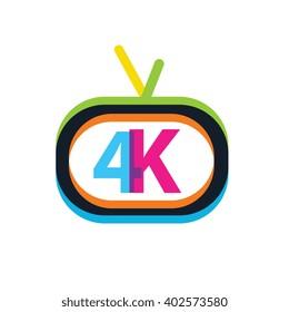 4K Video Channel Logo Template