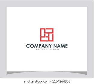 4P initial logo icon design vector eps 10