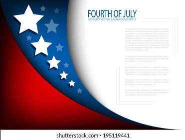 4th of July, American independence day background