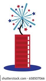 4th of July Firecracker