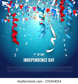 4th of July - Independence day celebration background