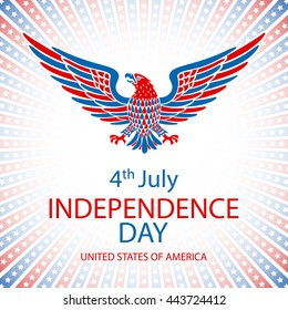4th July Independence day and for Presidential election HUGE vector object set isolated on white. VECTOR EPS 10 art