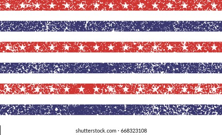 63f94f5f2a45 4th of July Stars and Stripes Grunge Abstract Seamless Pattern