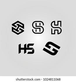 5 HS monograms