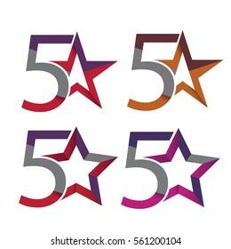 5 Star symbols