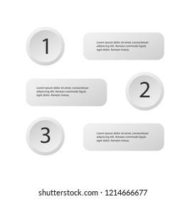 5 steps of modern arrow Infografics template. for your presentation. EPS 10.