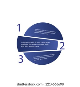 5 steps of modern arrow Infografics template. for your presentation. EPS 10.